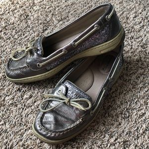 Sperry Angelfish Glitter Top-Sider Boat Shoes
